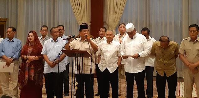 Ingin Suasana Damai, Prabowo Imbau Jangan Ada Lagi Penangkapan Oposisi