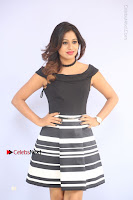 Actress Mi Rathod Pos Black Short Dress at Howrah Bridge Movie Press Meet  0017.JPG