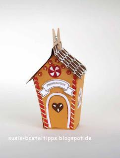 """Stampin Up Herbst- Winter Minikatalog ein Haus für alle fälle und """"zu Hause"""" für eine Geschenkverpackung"""