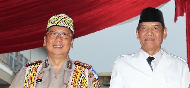 Foto: Kapolres & Walikota Singkawang