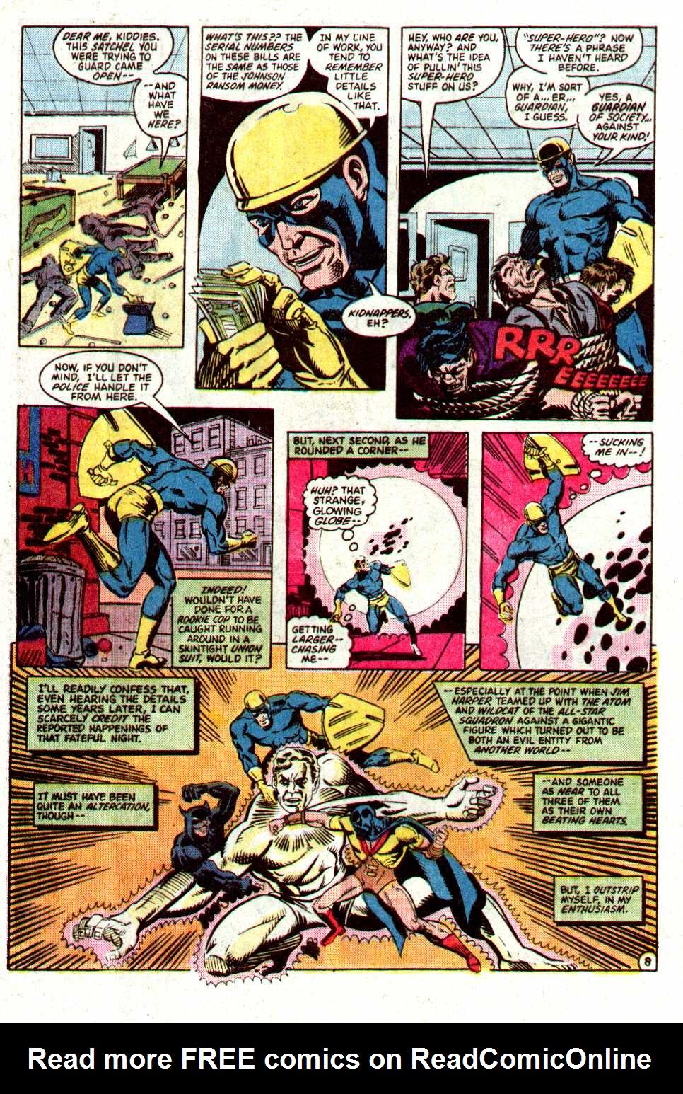 Read online Secret Origins (1986) comic -  Issue #19 - 29