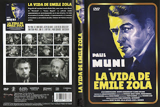 Carátula dvd: La vida de Émile Zola (1937) The Life of Emile Zola