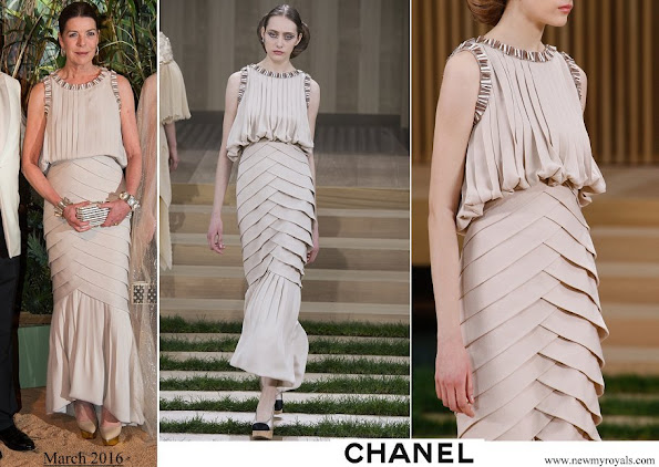 Princess Caroline Chanel Spring 2016 Couture Collection