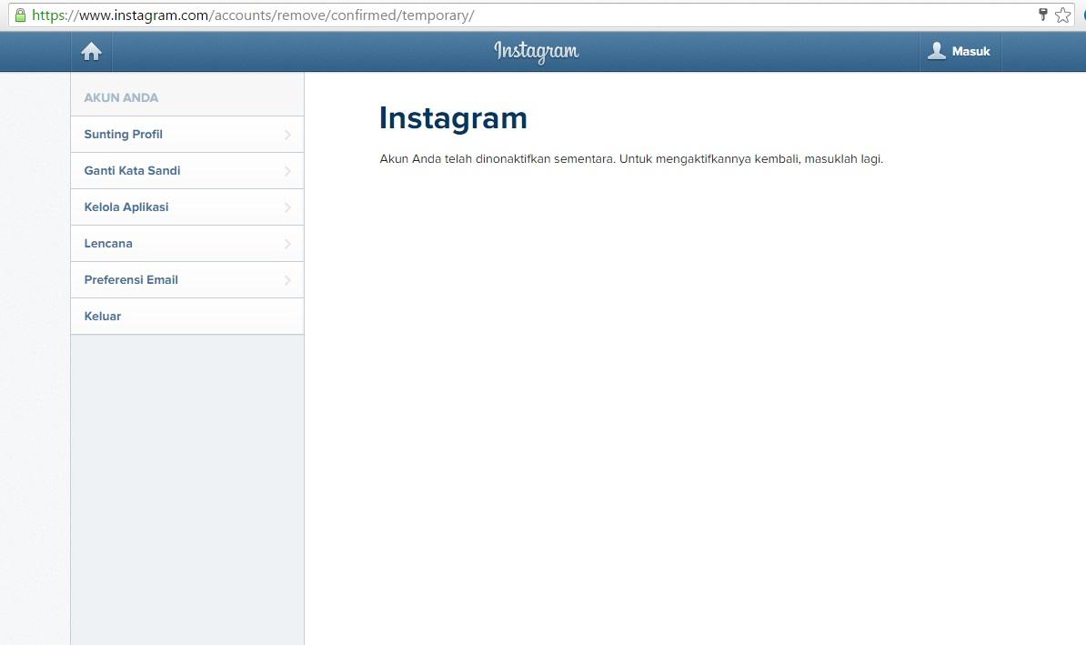 Cara Menonaktifkan Instagram Secara Permanen Dan Sementara
