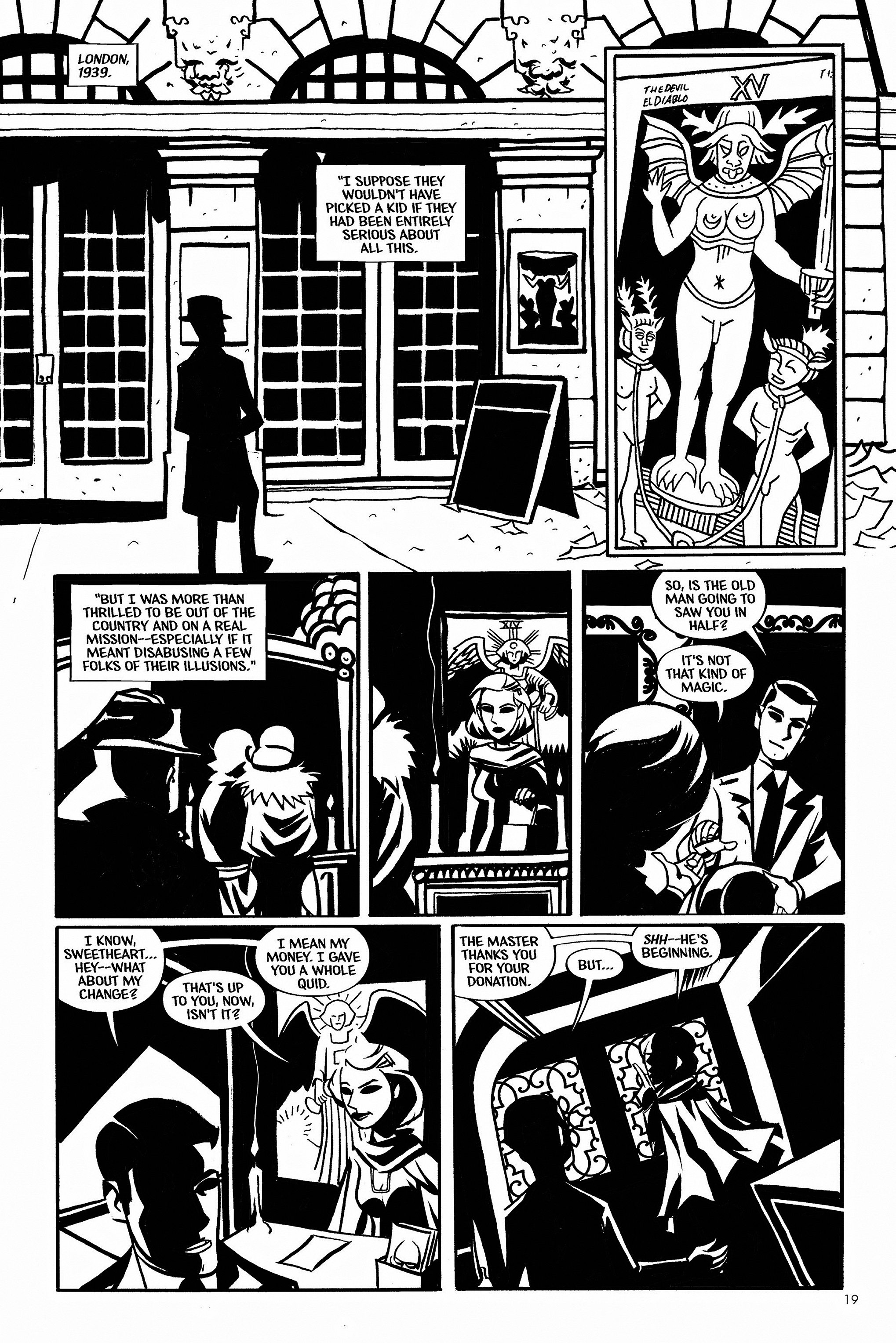 Read online Aleister & Adolf comic -  Issue # TPB - 19