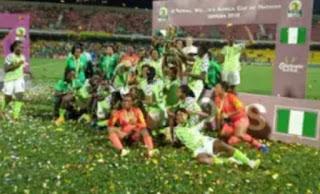 The Super Falcons retained the title after beating  the Banyana Banyana's of South Africa's 4-3 on penalties to win their ninth title.