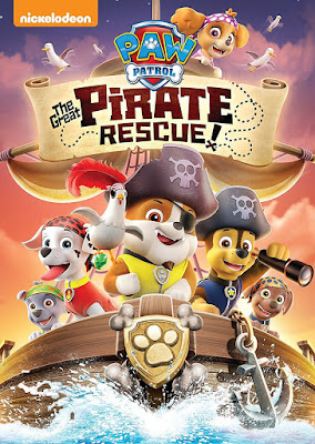 PAW Patrol The Great Pirate Rescue 2018 DVD R1 NTSC Latino