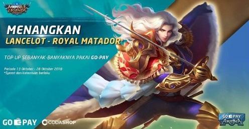 Tips Mendapatkan Skin Lancelot Royal Matador Gratis