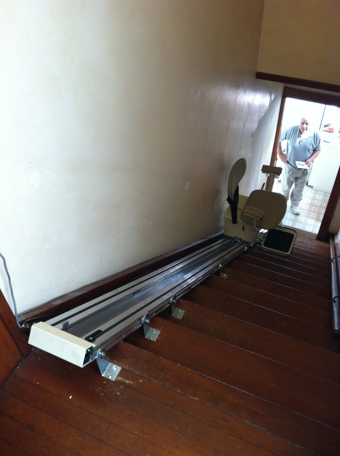 Consider It Done Construction Motorized Stair Lift