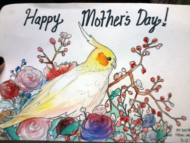 Mother's Day Drawing Pictures