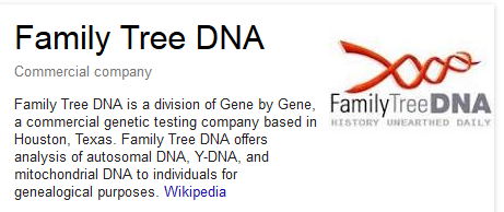 Why I Am Getting A DNA test from Family Tree DNA