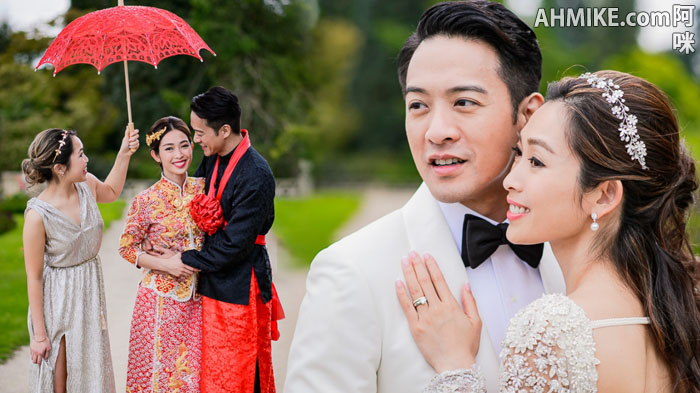 Jason Chan 陳智燊 Marries Sarah Song 宋熙年 In England