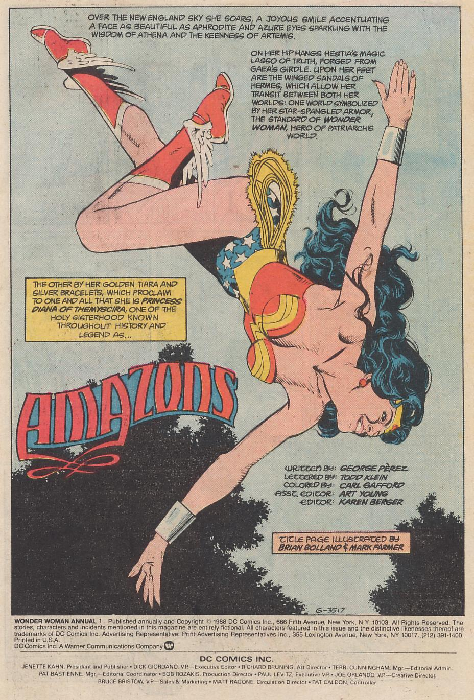 Read online Wonder Woman (1987) comic -  Issue # Annual 1 - 2