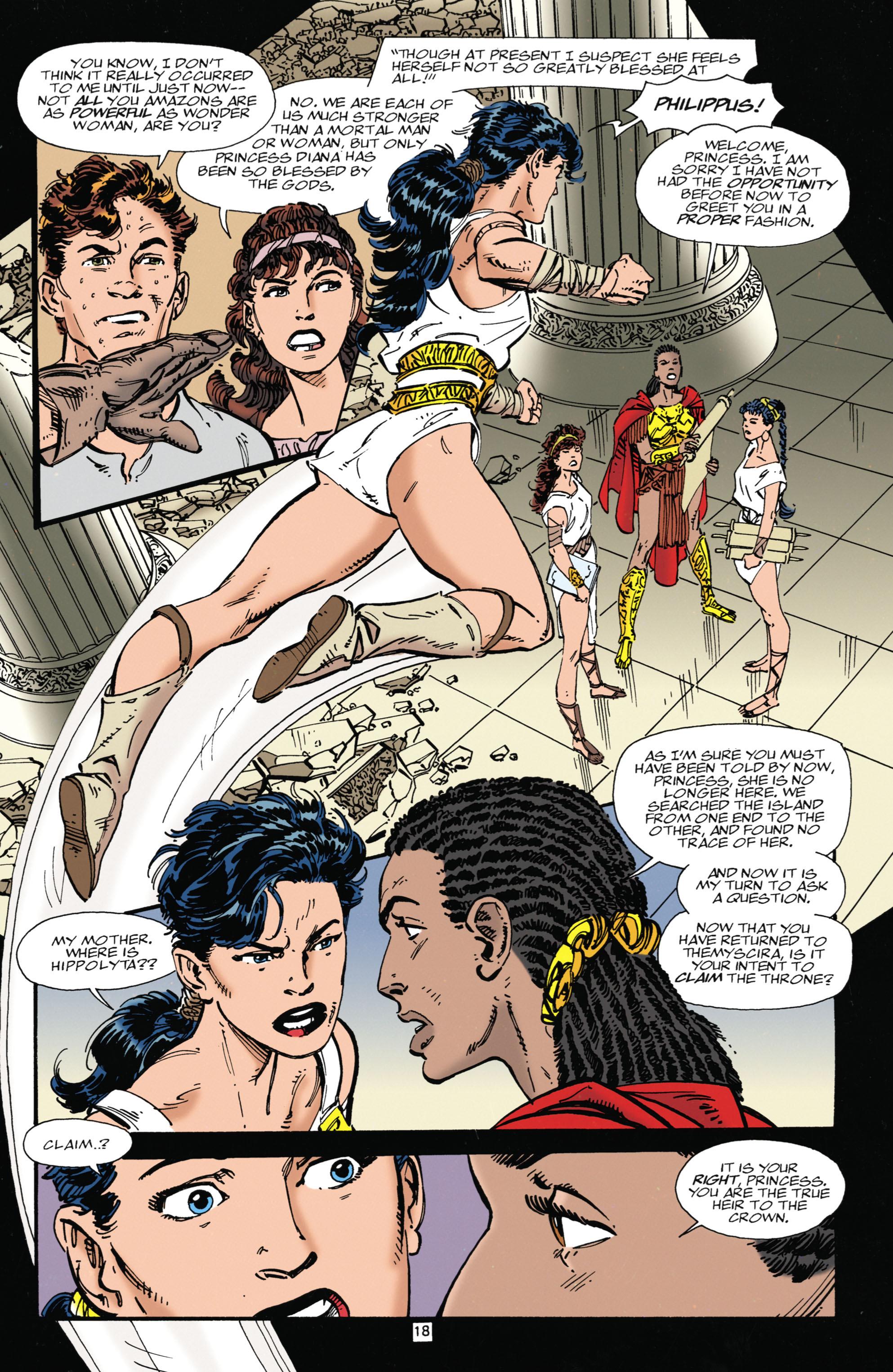Read online Wonder Woman (1987) comic -  Issue #104 - 18