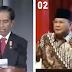 Pemanasan! Mari Menyimak 1 Menit Pidato Prabowo dan Jokowi