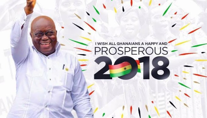 """Akufo-Addo: 2018 is my year of """"supersonic speed"""""""