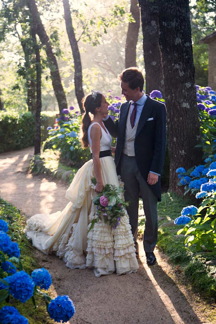 Wedding in the High Society Madrid, Philipp Krohn & Cristina D'ornellas {Cool Chic Style Fashion}