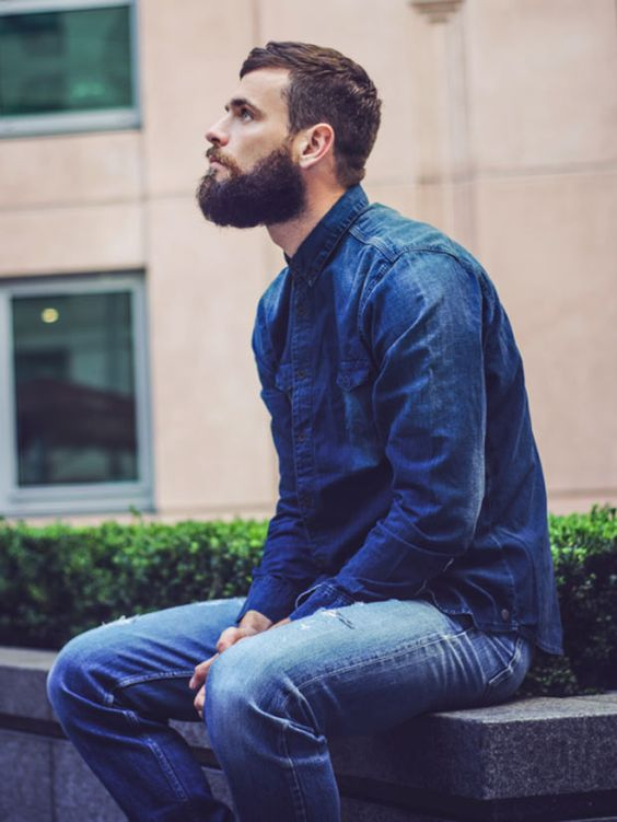 Como usar camisa jeans?