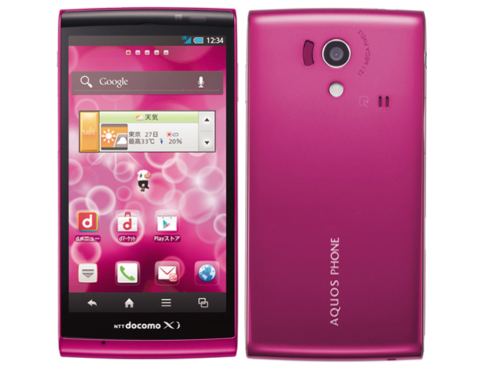 Android for the win: Sharp docomo with series AQUOS PHONE si SH-01E