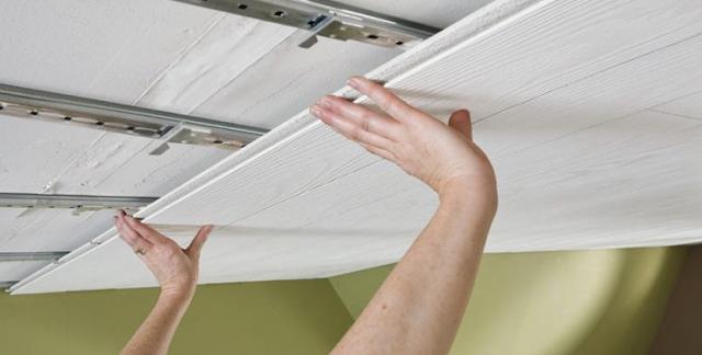 pvc ceiling fixing