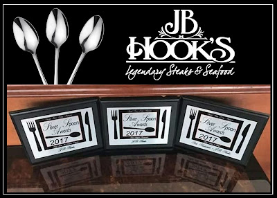 JB Hook's Received 3 Silver Spoon Awards