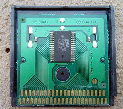 Sega Game Gear Cartridge PCB