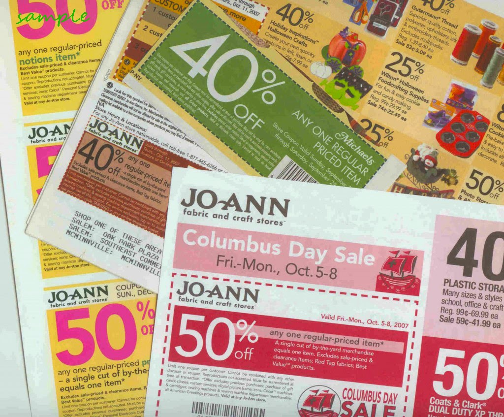 Joann fabric in store coupons