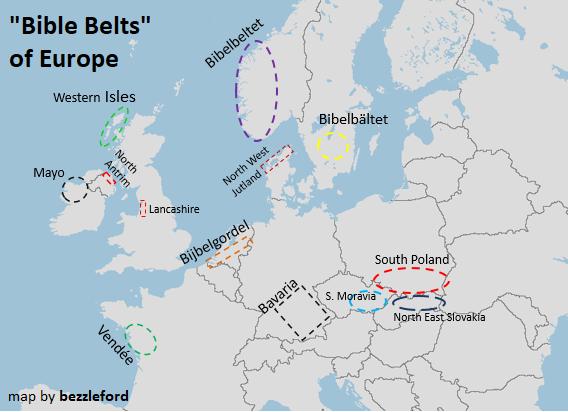 Bible Belts of Europe