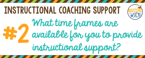 2. What time frames are available to you for provide support?