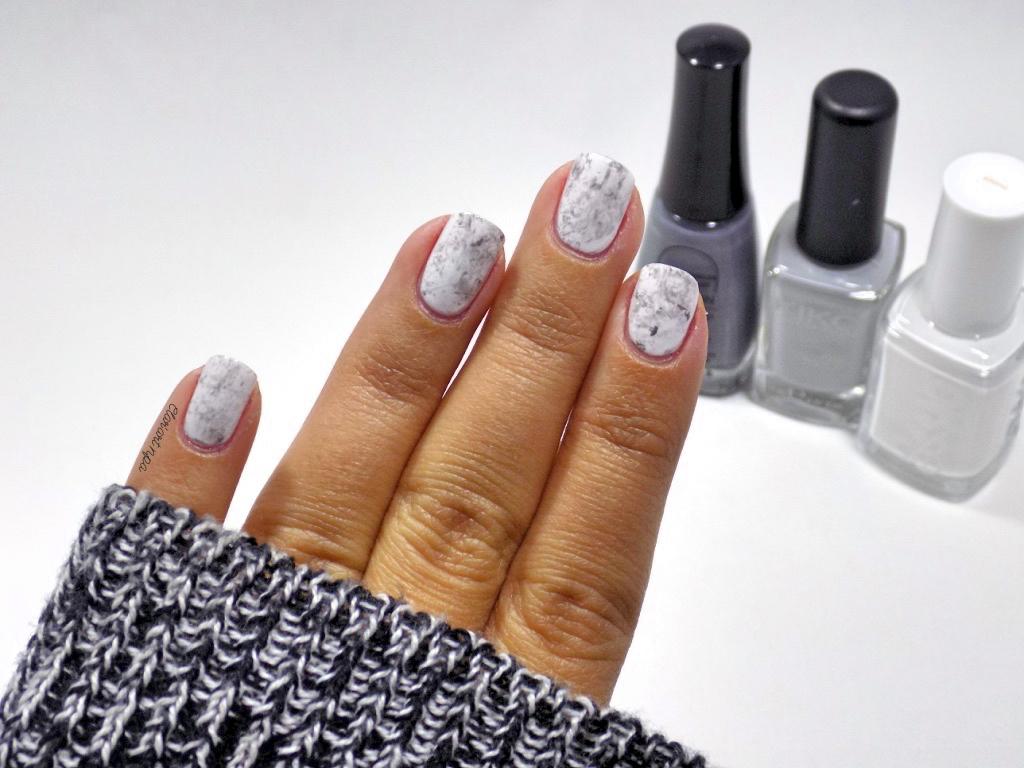Des ongles de marbre nail art le blog de clar 39 art npa beauty addict - Comment faire briller du marbre ...