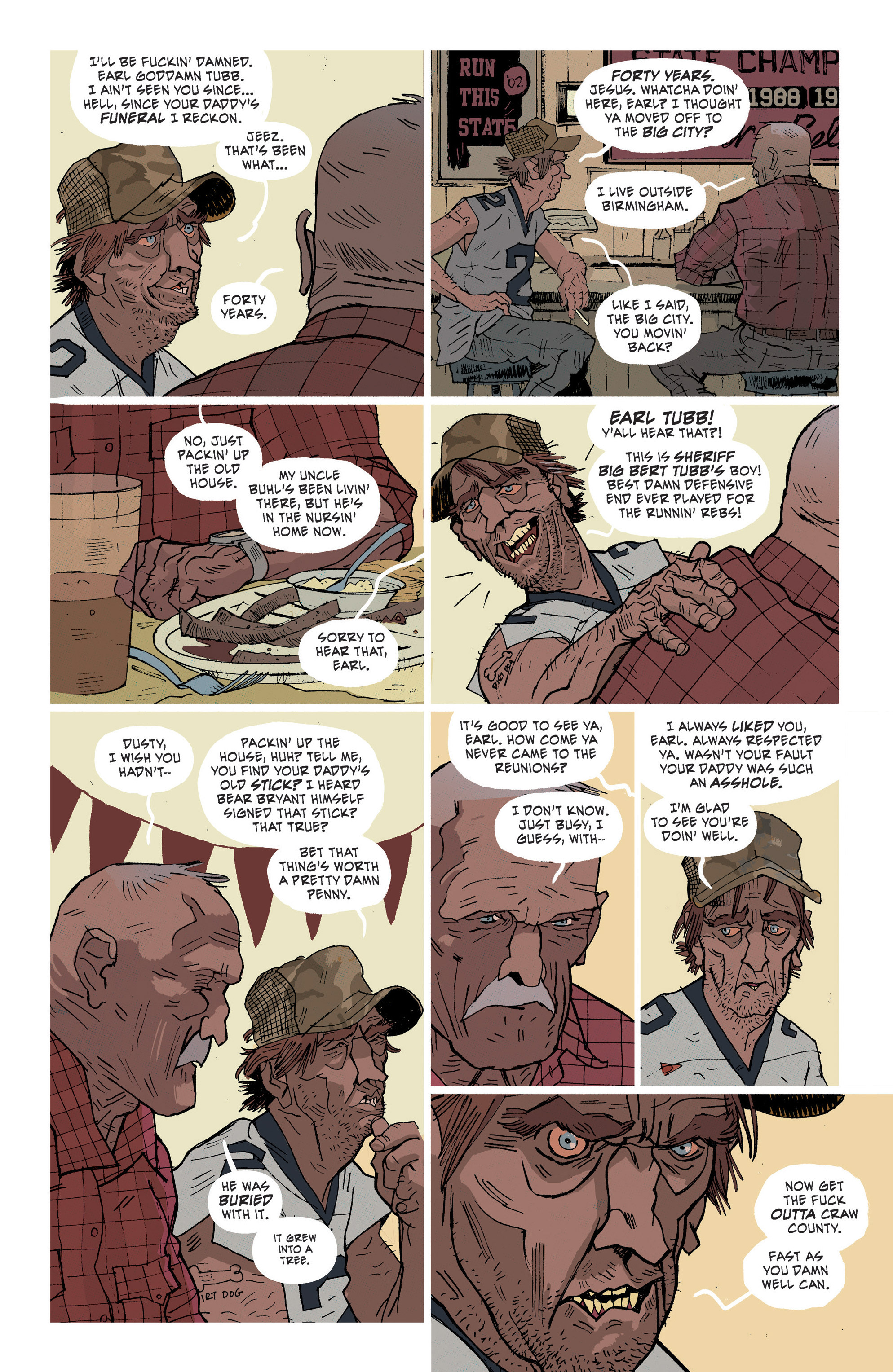 Read online Southern Bastards comic -  Issue #1 - 14