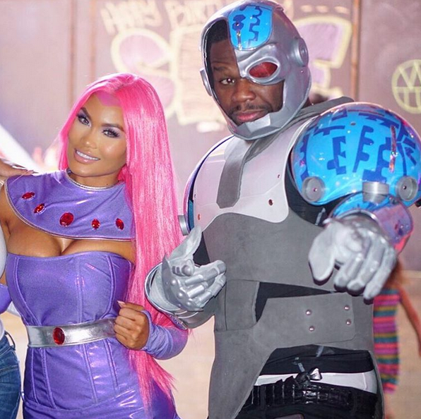 50 Cent praises his baby mama as they celebrate son's birthday (Photos)