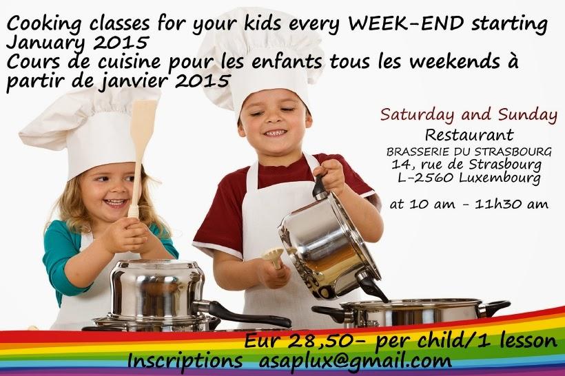 Cours de cuisine luxembourg adultes enfants cours de - Cours de cuisine enfant ...