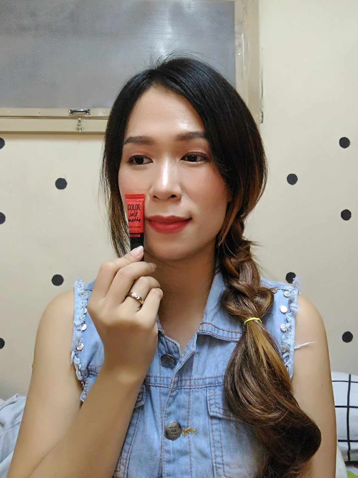 02 - Maybelline Color Jolt Matte Intense Lip Paints - Bittersweet Mandarin