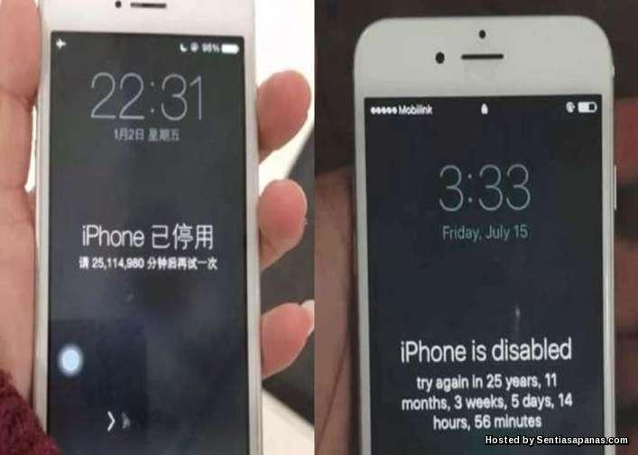 iPhone Terkunci 47 Tahun