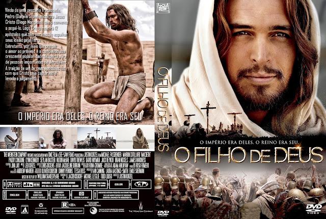 Capa DVD O Filho De Deus