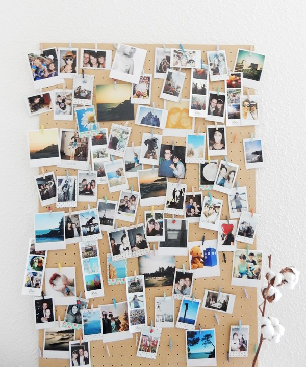 DIY mur de photos