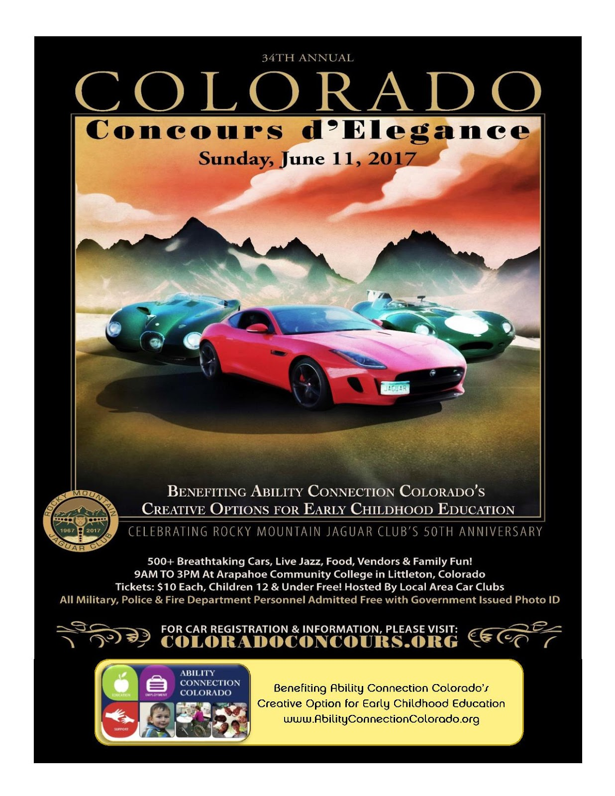 Colorado Springs EV Club We Need You At The Concours Show June - Littleton car show