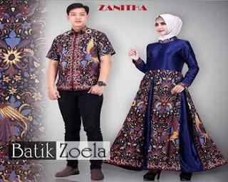 foto baju batik keluarga
