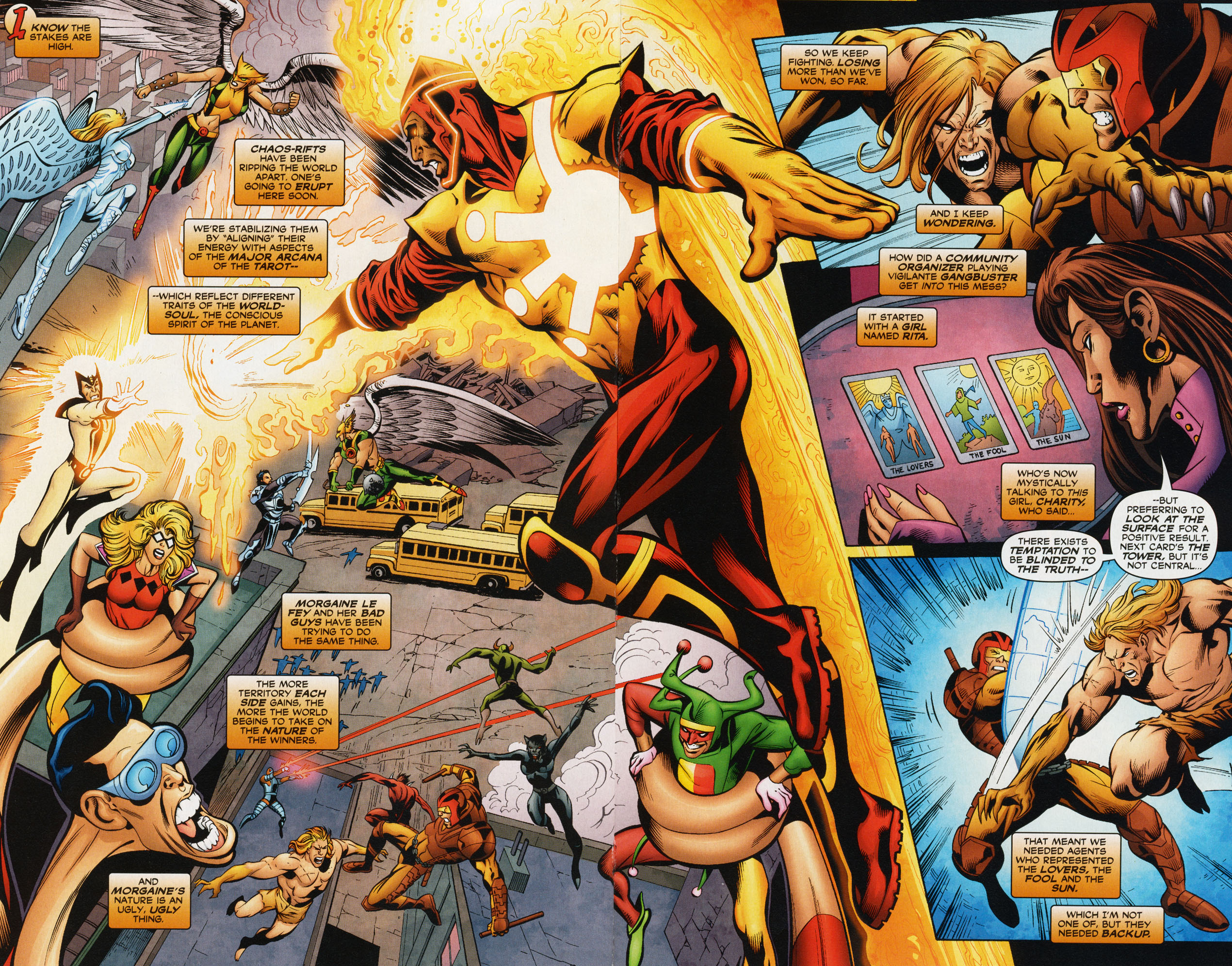 Read online Trinity (2008) comic -  Issue #34 - 19