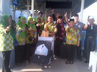 Siap Berlomba, Kafilah MTQN Sumut Selamat Tiba di Mataram