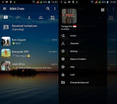Download BBM Mod Transparan Versi 3.0.1.25 Apk Terbaru
