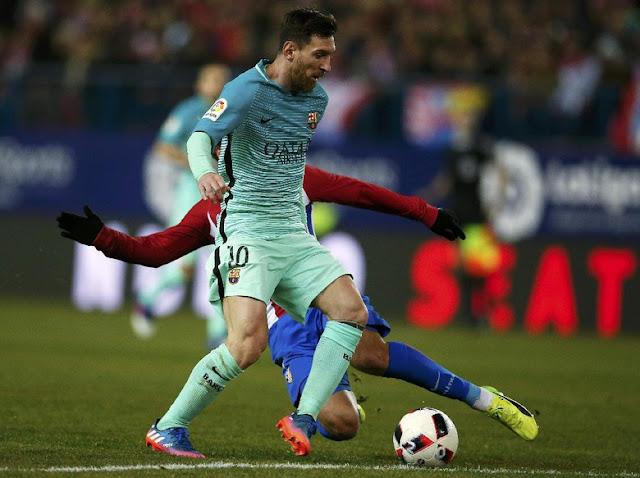 Barcelona Taklukkan Atletico 2-1