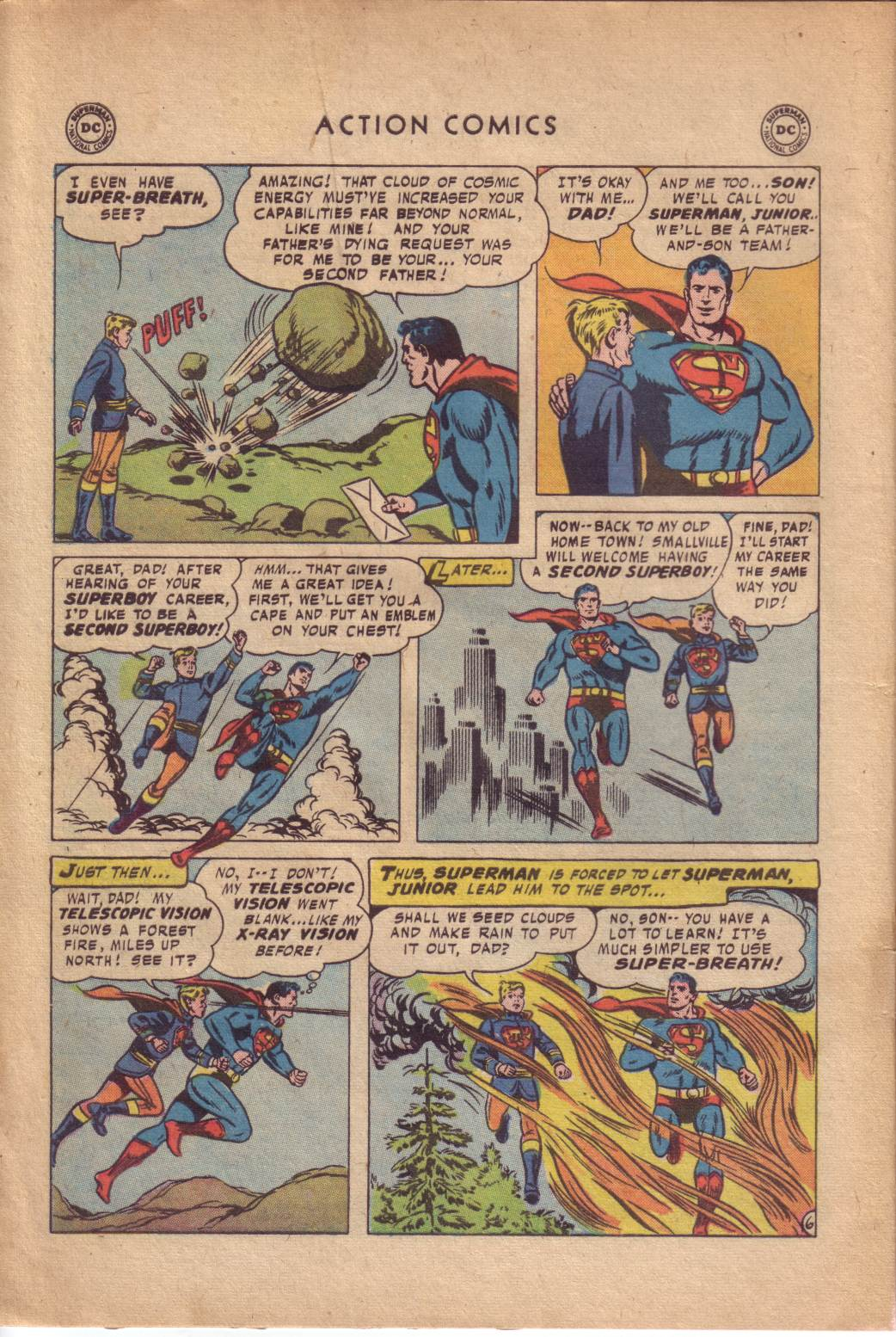 Read online Action Comics (1938) comic -  Issue #232 - 8