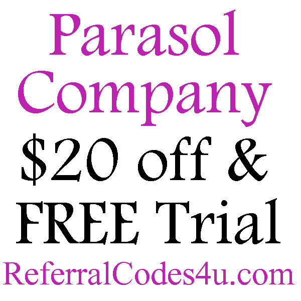 parasol co promo code $20 off, Parasol Diapers Refer A Friend, Parasol Diapers Reviews 2016-2017