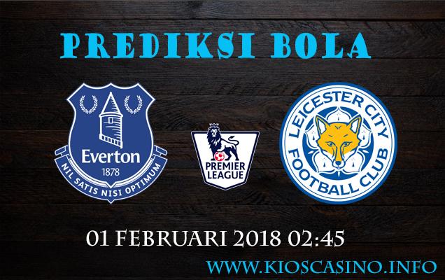 Prediksi Bola  Everton vs Leicester  01 Februari 2018