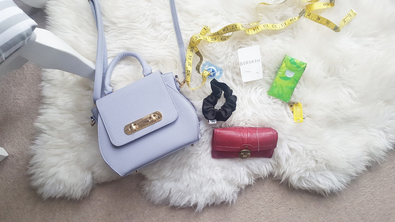 inside my handbag