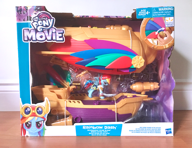 My Little Pony: The Movie - Hasbro Rainbow Dash Soaring Swasbuckler Pirate Airship