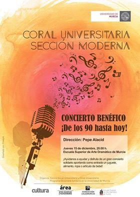 ¡Concierto benéfico de la Coral Universitaria!