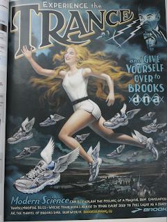 Brooks schoenen advertentie in Runner's World!